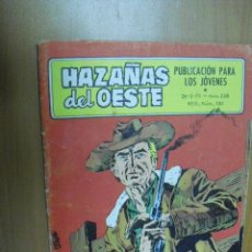 Tebeos: HAZAÑAS DEL OESTE Nº 238, EDICIONES TORAY. Lote 36717960