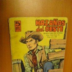 Tebeos: HAZAÑAS DEL OESTE Nº 94, EDICIONES TORAY. Lote 36717996