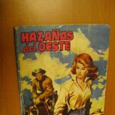 Tebeos: HAZAÑAS DEL OESTE Nº 10,EDICIONES TORAY 1959, 48 PAGINAS. Lote 36718108