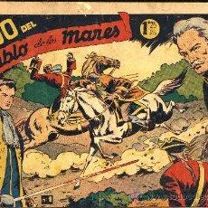 Tebeos: EL HIJO DEL DIABLO DE LOS MARES COMPLETA BOIXCAR PERFECTAMENTE ENCUADERNA AÑO 1949 CAJA 187 BIBLIOTE. Lote 36726226