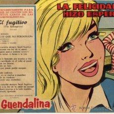 Tebeos: GUENDALINA - NÚM. 106 - LA FELICIDAD SE HIZO ESPERAR - CONTRAPORTADA: BIOGRAFIA DE GIULIA RUBINI . Lote 36774585