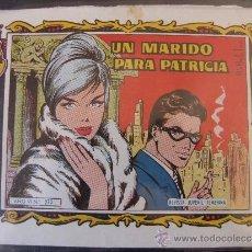 Tebeos: UN MARIDO PARA PATRICIA COLECCION ALICIA Nº 273. Lote 37032104