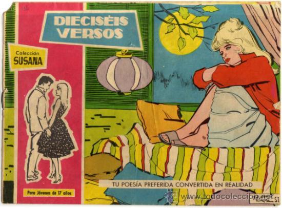 SUSANA - NÚM. 132 - DIECISEIS VERSOS (Tebeos y Comics - Toray - Susana)