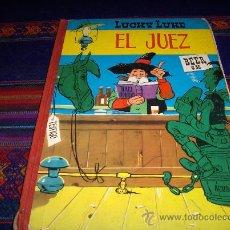 Tebeos: LUCKY LUKE EL JUEZ. TORAY 2ª EDICIÓN 1969.. Lote 37085768