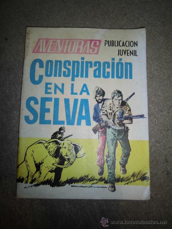 CONSPIRACION EN LA SELVA SALVADOR DUCET EDICIONES TORAY S.A. (Tebeos y Comics - Toray - Otros)