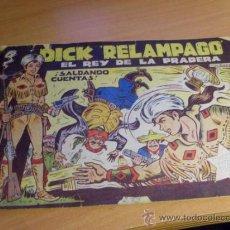 Tebeos: DICK RELAMPAGO Nº 2 ( ORIGINAL ED. TORAY) (TOR3). Lote 37156049