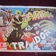 Tebeos: EL DIABLO DE LOS MARES ALBUM Nº 4. EN LAS GARRAS DEL TRAIDOR. TORAY ORIGINAL. 1949. Lote 37390472