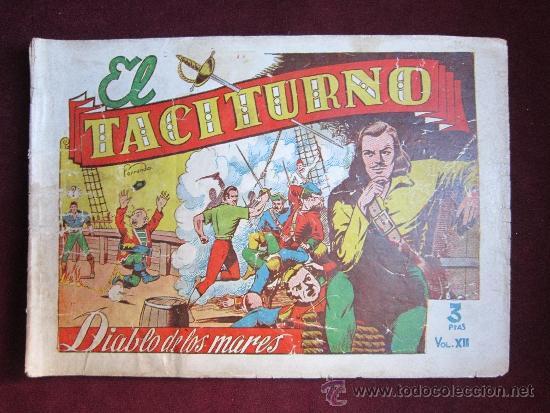 EL DIABLO DE LOS MARES ALBUM Nº 12. TACITURNO. TORAY ORIGINAL. 1949 (Tebeos y Comics - Toray - Diablo de los Mares)