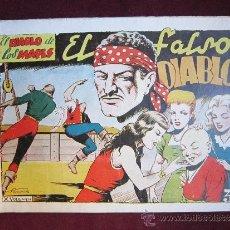 Tebeos: EL DIABLO DE LOS MARES ALBUM Nº 10. EL FALSO DIABLO. TORAY ORIGINAL. 1949. Lote 37390631