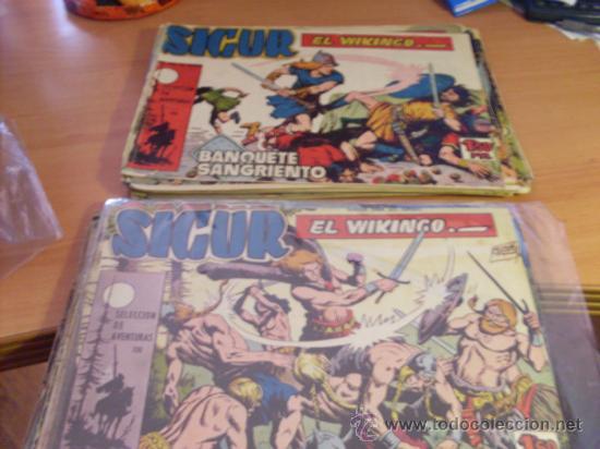 SIGUR EL VIKINGO. COLECCION COMPLETA (ORIGINAL ED. TORAY) (CLA3) (Tebeos y Comics - Toray - Otros)