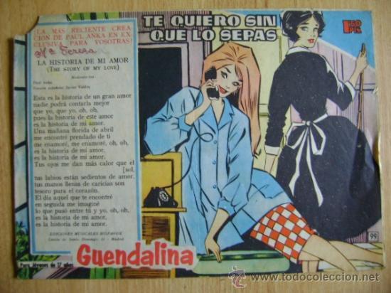 Tebeos: 3 números Guendolina Guendalina, de Toray: 99, 151 y otro - Foto 3 - 37810932