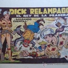Tebeos: DICK RELAMPAGO Nº 58 ORIGINAL. Lote 38062449