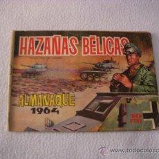 Tebeos: HAZAÑAS BÉLICAS ALMANAQUE 1964, EDITORIAL TORAY. Lote 38193801