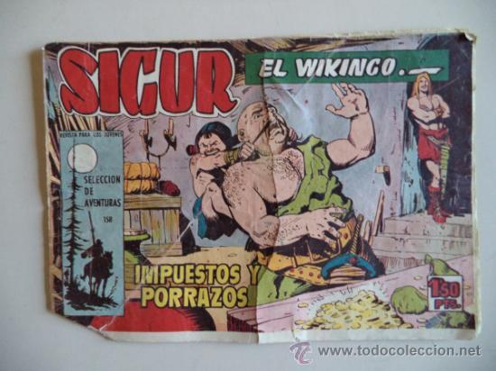 SIGUR EL VIKINGO ORIGINAL Nº158 (Tebeos y Comics - Toray - Otros)