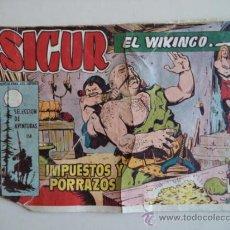 Tebeos: SIGUR EL VIKINGO ORIGINAL Nº158. Lote 38305021