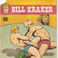 Tebeos: BILL KRAKER Nº 11. AÑO 1.958. ORIGINAL EDITORIAL TORAY DIBUJOS FERRANDO. Lote 38309104