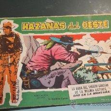 Tebeos: HAZAÑAS DEL OESTE TOMO 33 TORAY. Lote 38334610