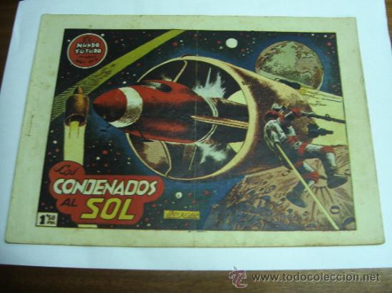 EL MUNDO FUTURO Nº 2 / LOS CONDENADOS AL SOL / TORAY ORIGINAL (Tebeos y Comics - Toray - Mundo Futuro)