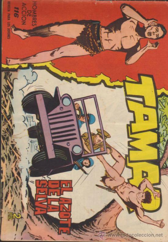 TAMAR Nº 116. (Tebeos y Comics - Toray - Tamar)