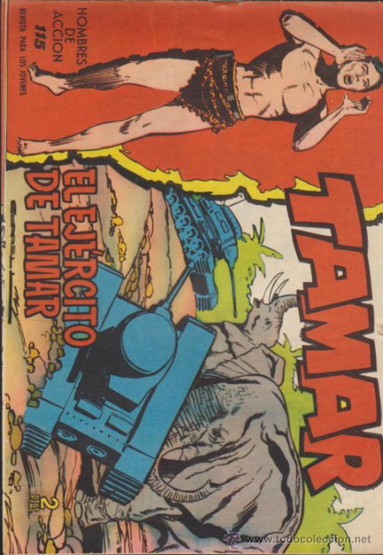 TAMAR Nº 115. (Tebeos y Comics - Toray - Tamar)