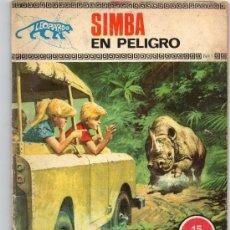 Tebeos: COLECCIÓN LEOPARDO - Nº 1 - SIMBA EN PELIGRO - EDICIONES TORAY - AÑO 1970.. Lote 38536053