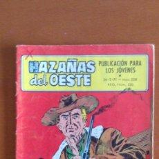 Tebeos: HAZAÑAS DEL OESTE Nº 238 ** TORAY 1971. Lote 38750598