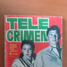 Comics - ESPIONAJE Nº 7 ** TELE CRIMEN ** TORAY - 38753664