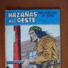 Tebeos: HAZAÑAS DEL OESTE Nº 183 ** TORAY 1969. Lote 38756994