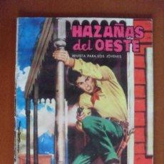 Tebeos: HAZAÑAS DEL OESTE Nº 64 ** TORAY ** CONTRAPORTADA ACTRIZ MARIA ELENA MARQUES. Lote 38757098