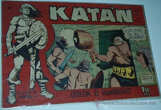 KATAN Nº 18 - TORAY - ORIGINAL (Tebeos y Comics - Toray - Katan)
