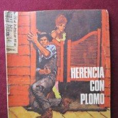 Tebeos: SIOUX Nº ?. HERENCIA CON PLOMO. TORAY. PORTADA LONGARÓN. 1970. Lote 94998252