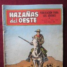 Tebeos: HAZAÑAS DEL OESTE. Nº 244. TORAY 1971. PORTADA DE LOPEZ ESPI.. Lote 38972354
