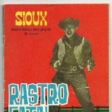 Tebeos: SIOUX Nº 35 RASTRO FATAL TORAY 1965. Lote 39126794