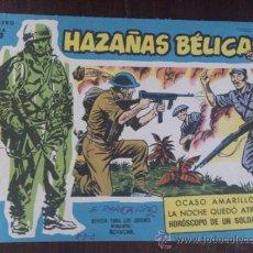 Tebeos: HAZAÑAS BÉLICAS Nº EXTRA 153. ORIGINAL DEL AÑO 1958. EXCELENTE ESTADO. Lote 39584064