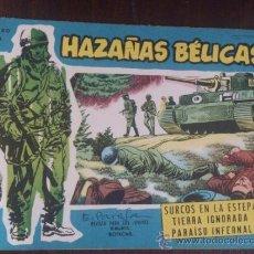 Tebeos: HAZAÑAS BÉLICAS Nº EXTRA 89. ORIGINAL DEL AÑO 1958. EXCELENTE ESTADO. Lote 39584618
