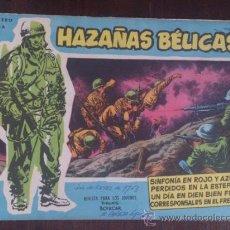 Tebeos: HAZAÑAS BÉLICAS Nº EXTRA 41. ORIGINAL DEL AÑO 1958. EXCELENTE ESTADO. Lote 39584038