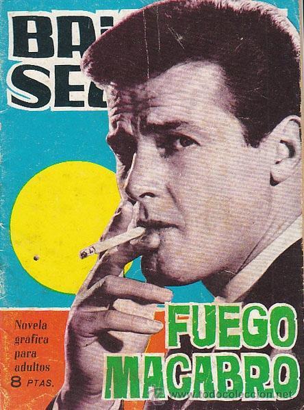 BRIGADA SECRETA Nº 102, FUEGO MACABRO (Tebeos y Comics - Toray - Brigada Secreta)