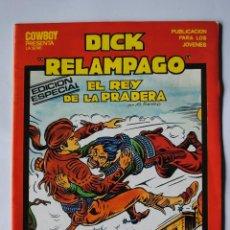 Tebeos: DICK RELAMPAGO. EDICION ESPECIAL Nº 14. EL REY DE LA PRADERA. EDICIONES URSU. Lote 39598436