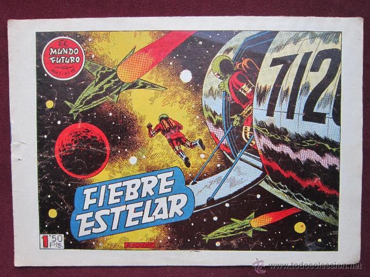 EL MUNDO FUTURO Nº 19. FIEBRE ESTELAR. BOIXCAR ORIGINAL TORAY 1955 (Tebeos y Comics - Toray - Mundo Futuro)