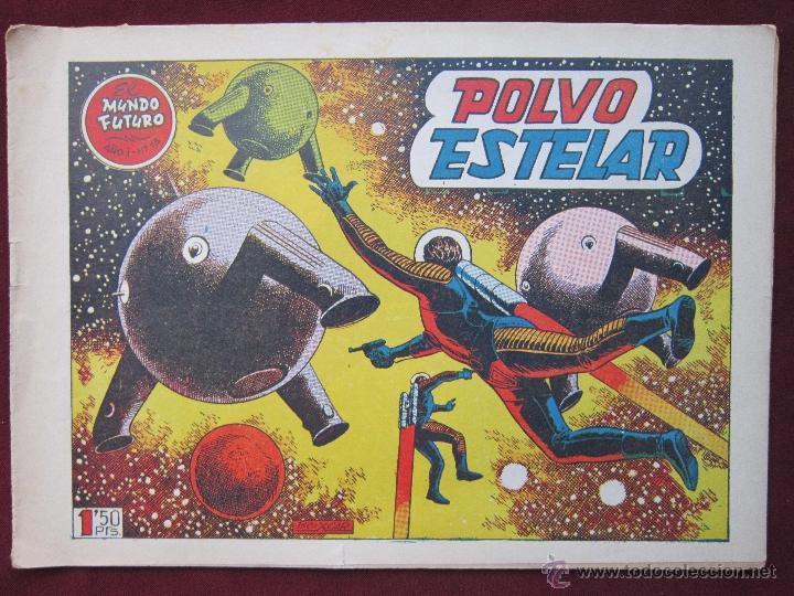 EL MUNDO FUTURO Nº 13. POLVO ESTELAR. BOIXCAR ORIGINAL TORAY 1955 (Tebeos y Comics - Toray - Mundo Futuro)