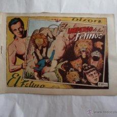 Tebeos: DIXON EL FELINO Nº 4 FERRANDO ORIGINAL. Lote 39642994