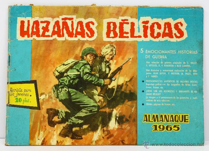 HAZAÑAS BÉLICAS ALMANAQUE 1965 - TORAY (Tebeos y Comics - Toray - Hazañas Bélicas)