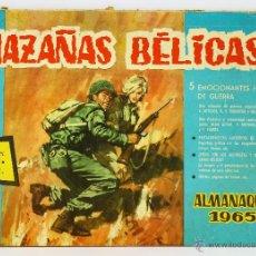 Tebeos: HAZAÑAS BÉLICAS ALMANAQUE 1965 - TORAY. Lote 39707653
