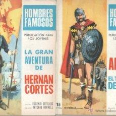 Tebeos: HOMBRES FAMOSOS EDI.TORAY 1968 - 12 TEBEOS , VER IMAGENES. Lote 39711268