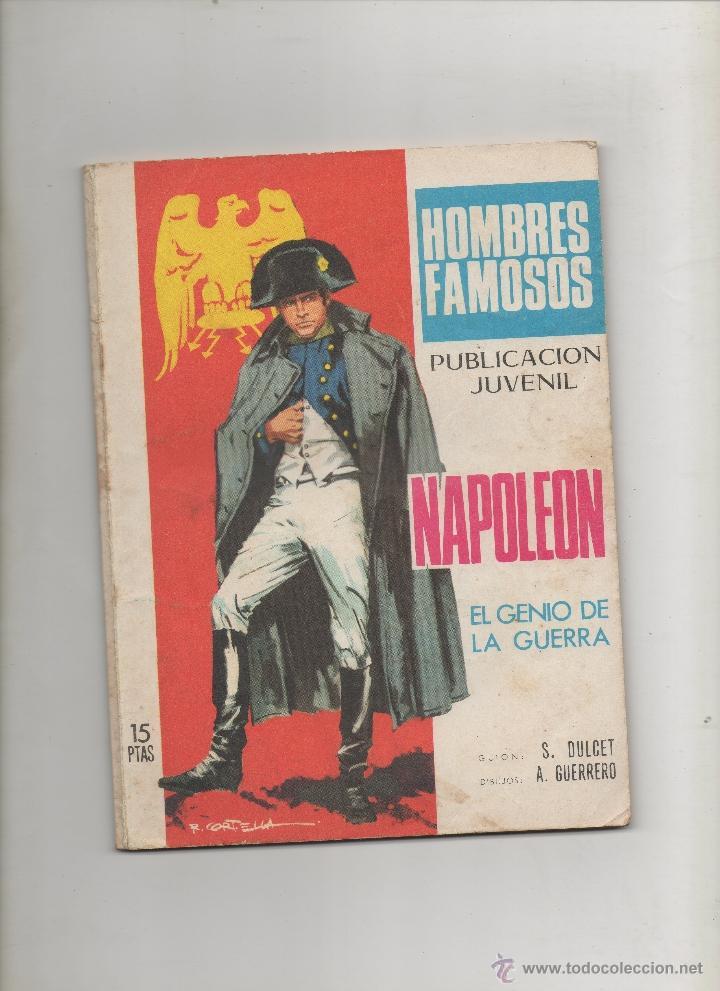 HOMBRES FAMOSOS Nº 13 - NAPOLEON (1969) (Tebeos y Comics - Toray - Otros)
