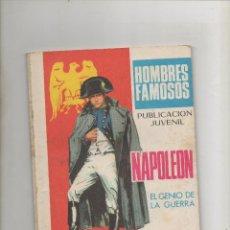 Tebeos: HOMBRES FAMOSOS Nº 13 - NAPOLEON (1969) . Lote 39741573