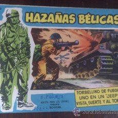 Tebeos: HAZAÑAS BÉLICAS Nº EXTRA 40. ORIGINAL DEL AÑO 1958. EXCELENTE ESTADO. Lote 45813896