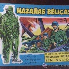 Tebeos: HAZAÑAS BÉLICAS Nº EXTRA 138. ORIGINAL DEL AÑO 1958.. Lote 45813840