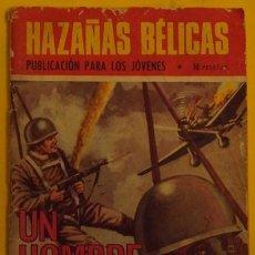 Tebeos: HAZAÑAS BÉLICAS - UN HOMBRE SOLO AÑO 1970 . Lote 39900983