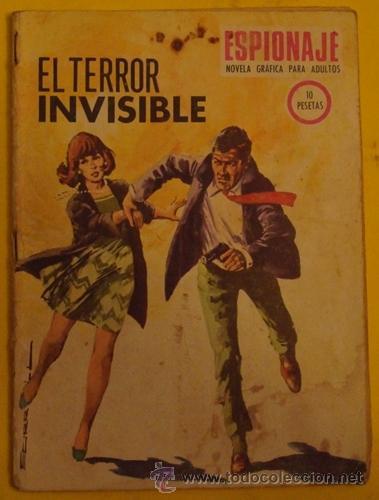 ESPIONAJE - EL TERROR INVISIBLE NO 70 AÑO 1967 (Tebeos y Comics - Toray - Espionaje)